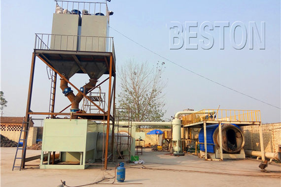 Plastic Waste Pyrolysis Recycling Plant
