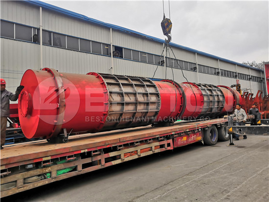 Sawdust Charcoal Machine to Russia