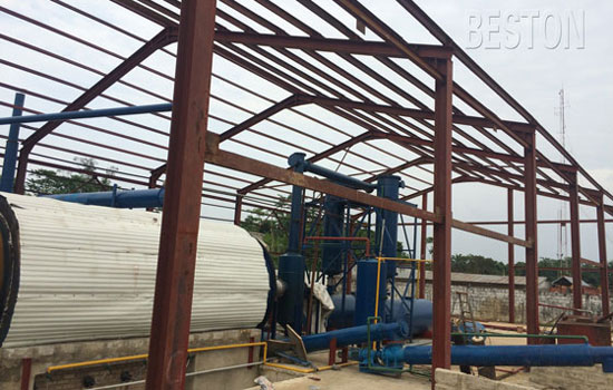 pyrolysis recycling plant