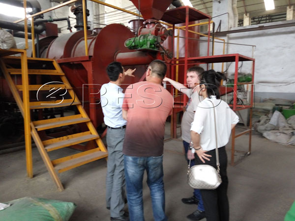 Beston Palm Shell Charcoal Machine for Sale