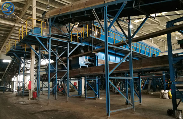 Plastic Waste Recycling Sorting Plant