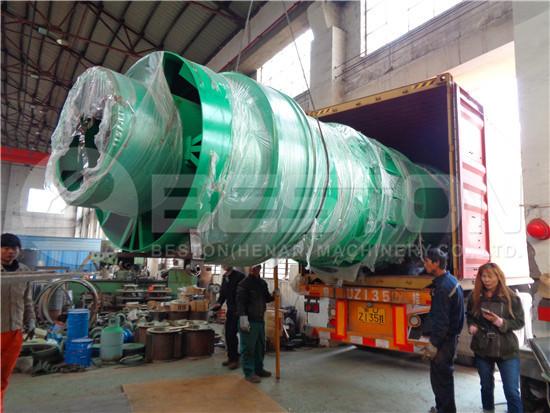 Biochar Making Machine to Spain