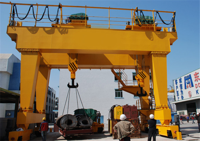 50 ton double girder gantry crane for sale