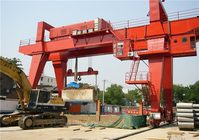 Purchase of double gantry cranes 50tn