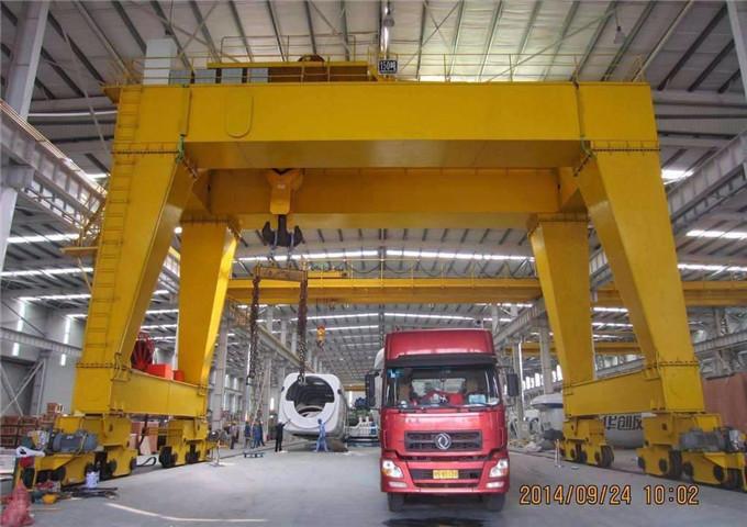 Price 50 tons double girder gantry crane