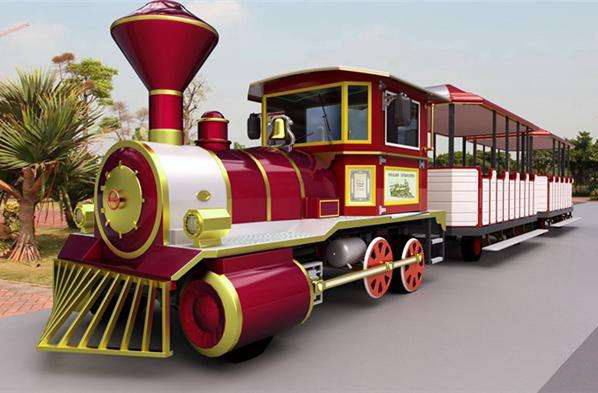Amusement trackless trains for sale