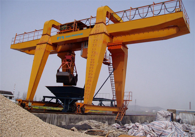Grab gantry crane for sale