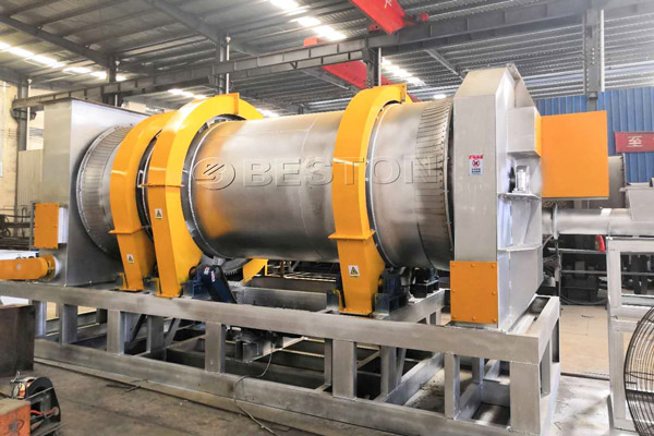 Beston Biomass Charcoal Making Machine for Sale